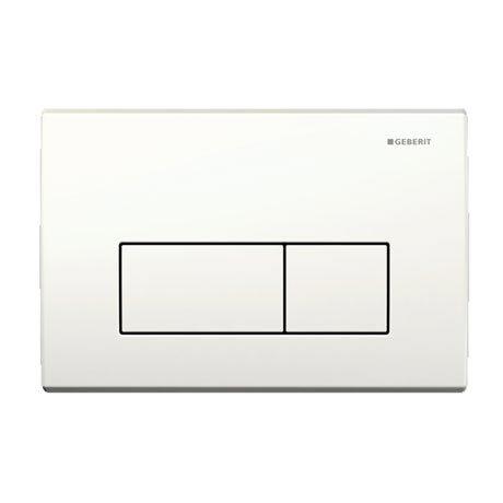 Geberit - Flush Plate for UP200 Cistern - Kappa50 - White