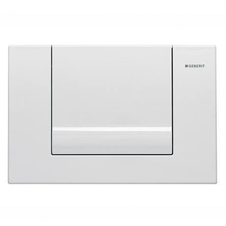 Geberit Tango White Flush Plate for UP320 Cistern - 115.760.11.1