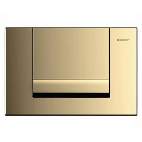 Geberit Tango Gold Plated Flush Plate for UP320 Cistern - 115.760.45.1