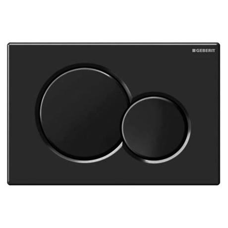 Geberit Sigma01 Black Dual Flush Plate for UP320 Cistern - 115.770.DW.5