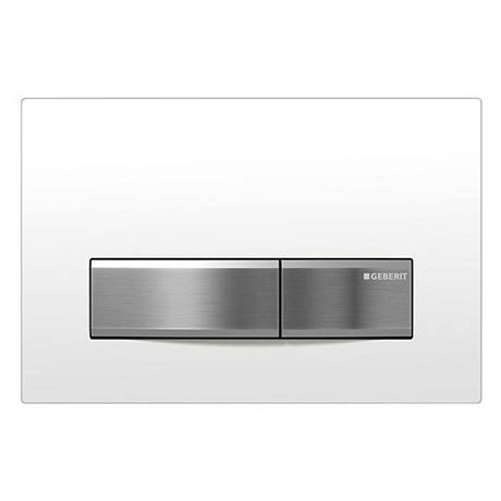 Geberit Sigma 50 White Flush Plate for UP320 Cistern - 115.788.11.5