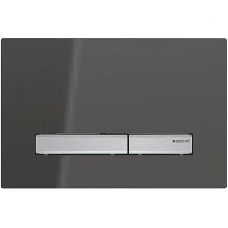 Geberit Sigma 50 Smoked Reflective Glass Flush Plate for UP320 Cistern - 115.788.SD.2