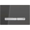 Geberit Sigma 50 Smoked Reflective Glass Flush Plate for UP320 Cistern - 115.788.SD.2 profile small image view 1