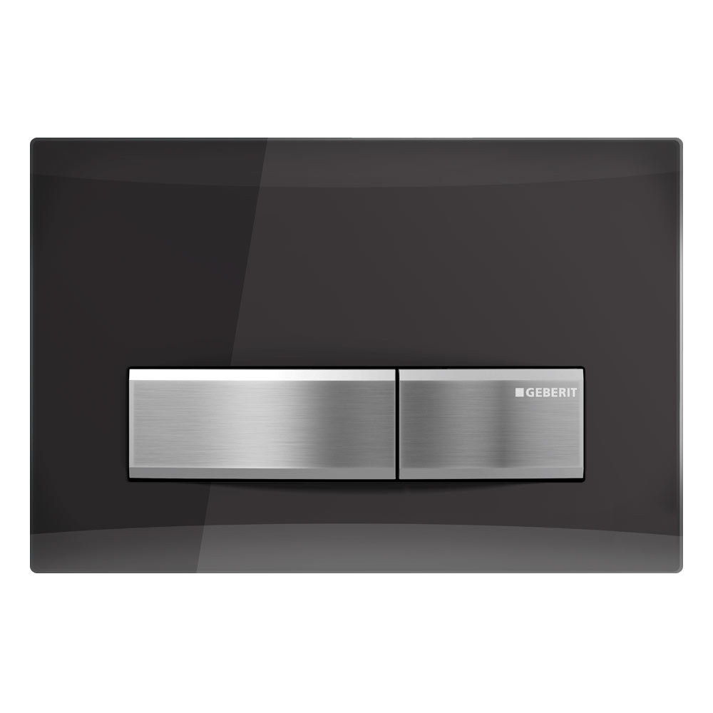 Geberit Sigma 50 Smoked Reflective Glass Flush Plate for UP320 Cistern - 115.788.SD.5