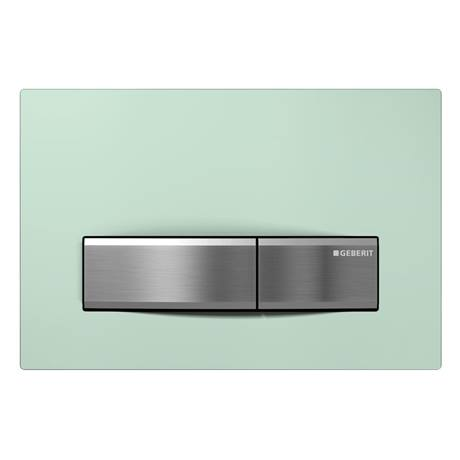 Geberit Sigma 50 Green Sanitised Flush Plate for UP320 Cistern - 115.788.SE.5