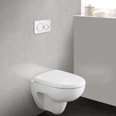 Geberit Sigma 20 White Flush Plate for UP320/UP720 Cistern - 115.882.KJ.1