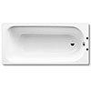 Kaldewei - Eurowa Eco 130L Steel Enamel Bath - 1700 x 700mm - 2 TH profile small image view 1