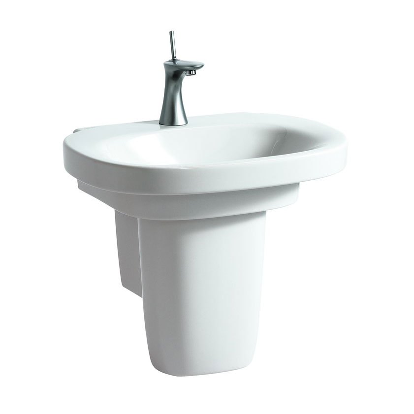 Laufen - Mimo 1 Tap Hole Basin with Concealed Overflow - 11553 Feature Large Image