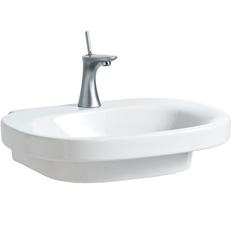 Laufen - Mimo 1 Tap Hole Basin with Concealed Overflow - 11553