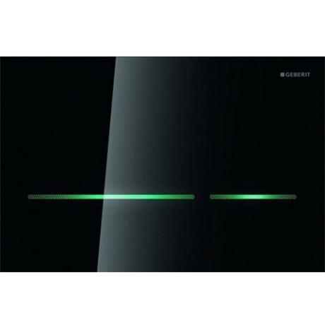 Geberit - Touchless Dual Flush for UP720 Cistern - Sigma80 - Smoked Glass Reflective