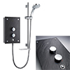 Mira Galena 9.8kW Slate Effect Thermostatic Electric Shower - 1.1634.117 Small Image