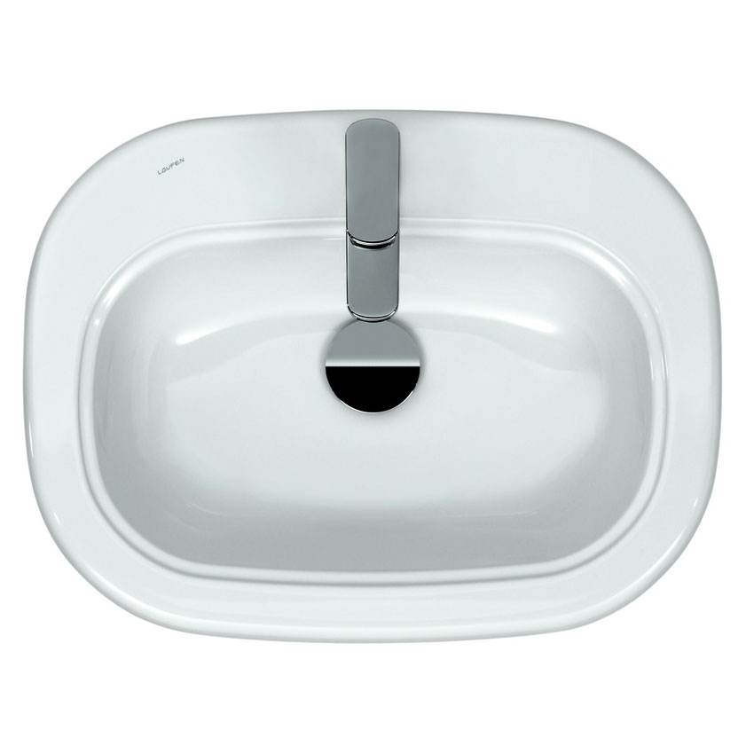 Laufen - Lb3 Classic 1 Tap Hole 650mm Inset Basin - 11682 Profile Large Image
