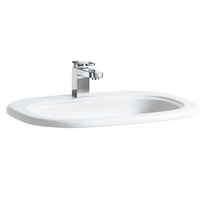 Laufen - Lb3 Classic 1 Tap Hole 650mm Inset Basin - 11682 Large Image