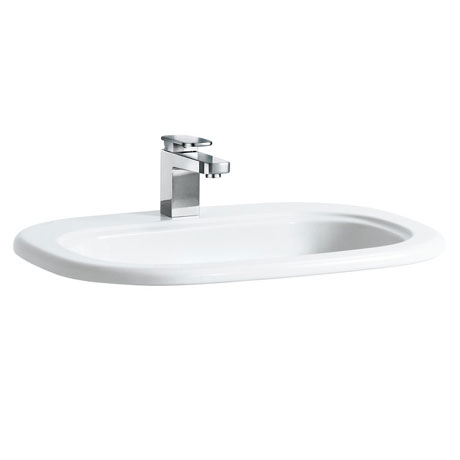 Laufen - Lb3 Classic 1 Tap Hole 650mm Inset Basin - 11682