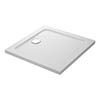Mira Flight Safe Anti-Slip Square Shower Tray profile small image view 1