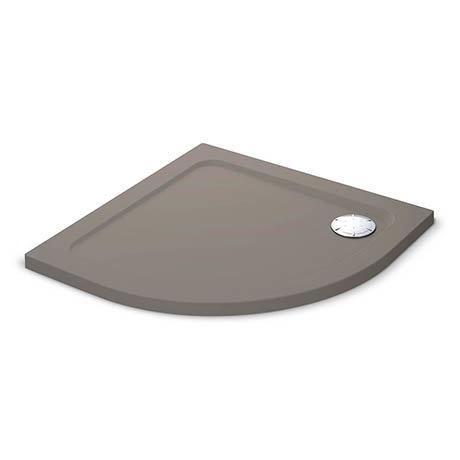 Mira Flight Safe Anti-Slip Quadrant Shower Tray 900 x 900mm - Taupe