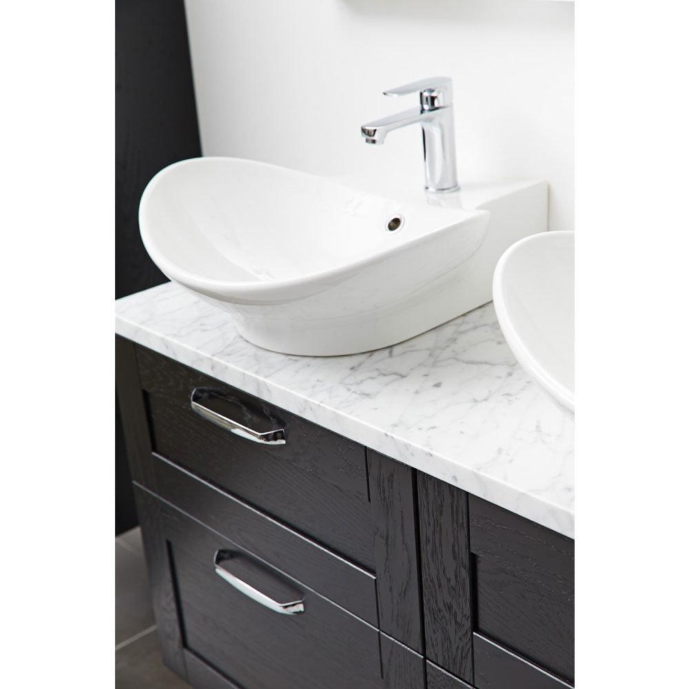 Miller - 500mm Countertop Ceramic Basin - 116W1 Profile Large Image