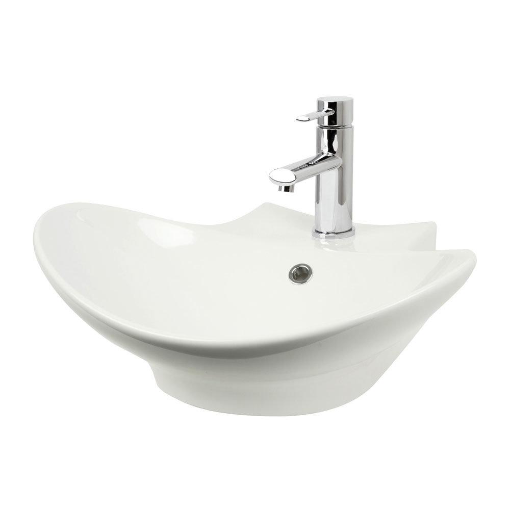 Miller - 500mm Countertop Ceramic Basin - 116W1