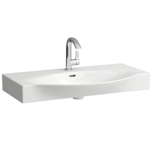 Laufen - Palace 1 Tap Hole Countertop Basin - 3 x Size Options Large Image