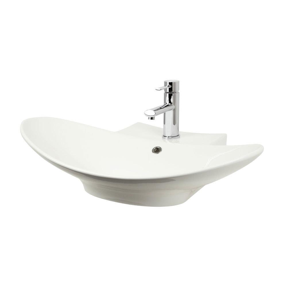 Miller - 680mm Countertop Ceramic Basin - 117W1 Large Image