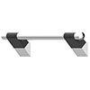 AKW Onyx 45 Duo Black Grab Rail profile small image view 1