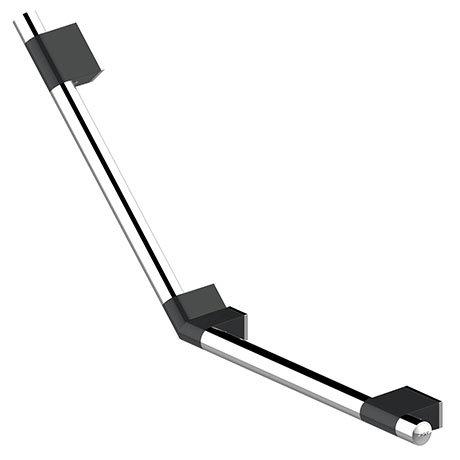 AKW Onyx Duo Black 135° Grab Rail