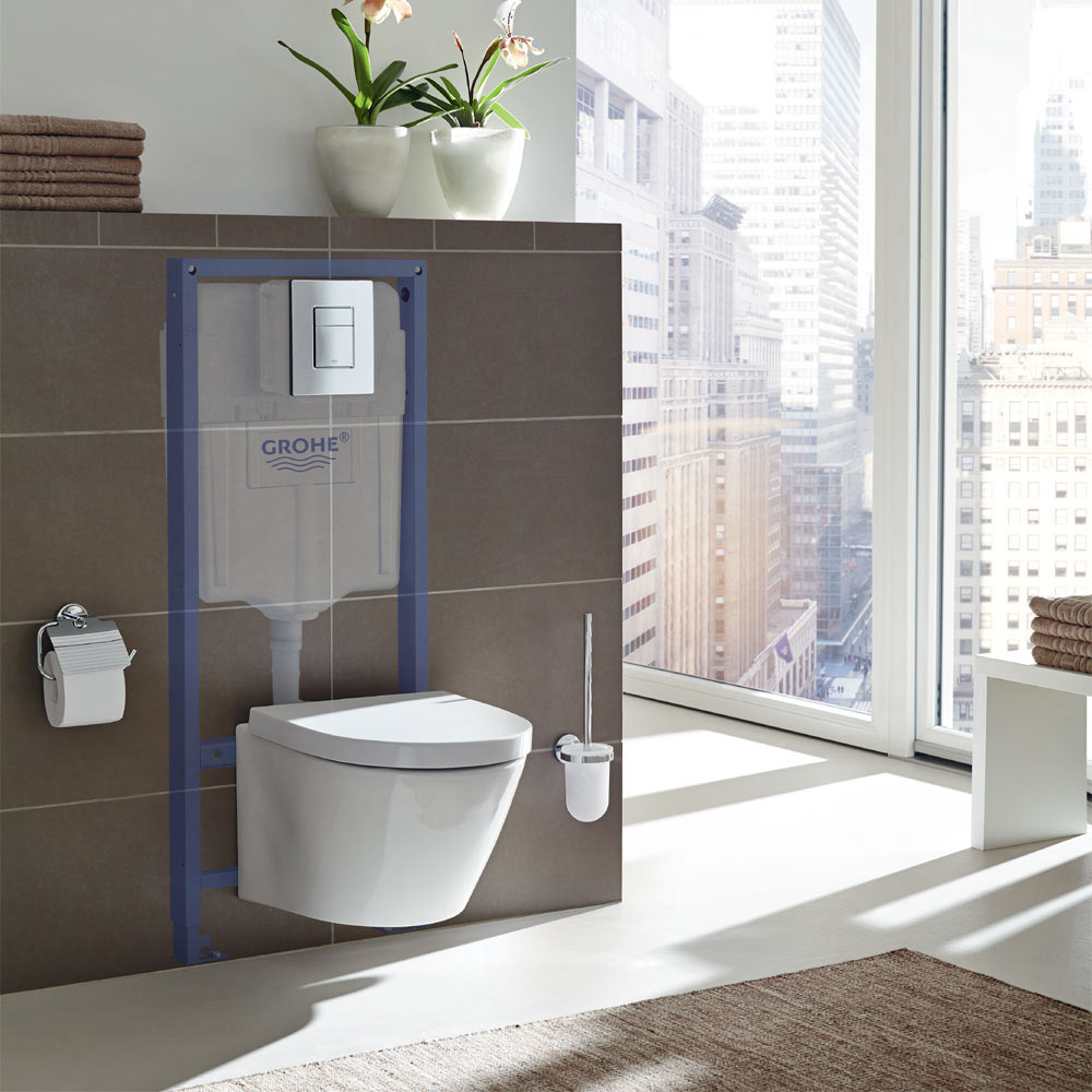 Grohe Rapid SL 0.98m 3 in 1 Set Support Frame for Wall Hung WC - 118152 profile large image view 2