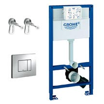 Grohe Rapid SL 0.98m 3 in 1 Set Support Frame for Wall Hung WC - 118152
