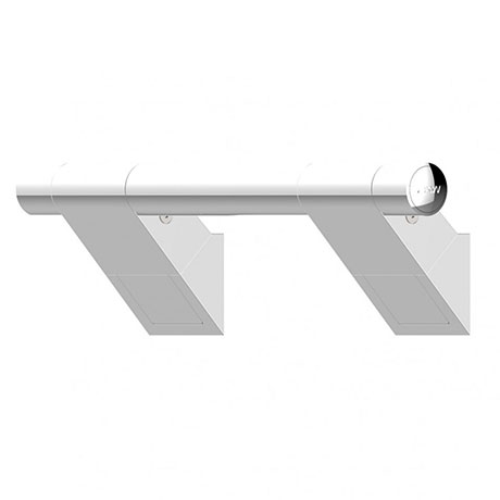 AKW Onyx 45 Chrome Grab Rail