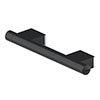 AKW Onyx 300mm Black Straight Grab Rail profile small image view 1