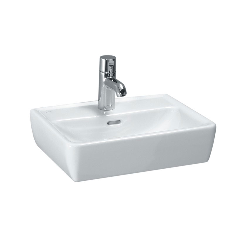 Laufen - Pro 1 Tap Hole 450mm Small Basin with Ground Base - 11952 profile large image view 1