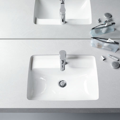 Laufen - Pro S 1 Tap Hole 525mm Under Counter Basin - 11966 profile large image view 2