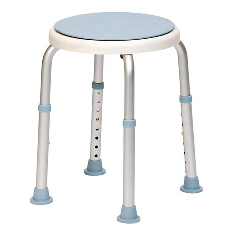 Drive DeVilbiss Bath Stool With Rotating Seat - 12004SWIVKDR