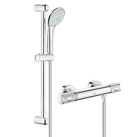 Grohe G1000 Performance Low Pressure Euphoria Shower Set