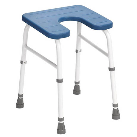 Drive DeVilbiss Cowley Freestanding Shower Stool - 121PU