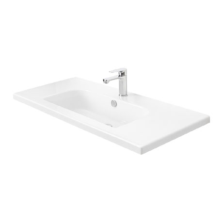 Miller - 1010mm D-Shaped Bowl Ceramic Basin - 122W1