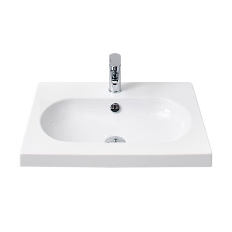 Miller - 600mm Oval Bowl Ceramic Basin - 124W1