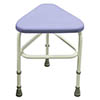 Drive DeVilbiss Belmont Corner Shower Stool - 124 profile small image view 1