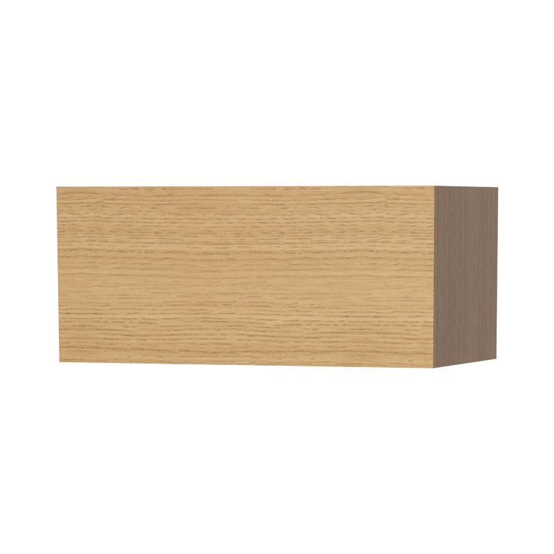 Miller - New York Horizontal Storage Cabinet - Oak Large Image