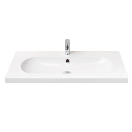 Miller - 1000mm Oval Bowl Ceramic Basin - 126W1