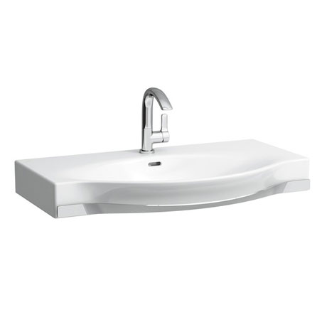 Laufen - Palace 1 Tap Hole Countertop Basin with Towel Rail - 3 x Size Options