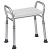 Drive DeVilbiss Bosworth Aluminium KD Shower Bench with Adjustable Height - 127ALUKDR profile small image view 1