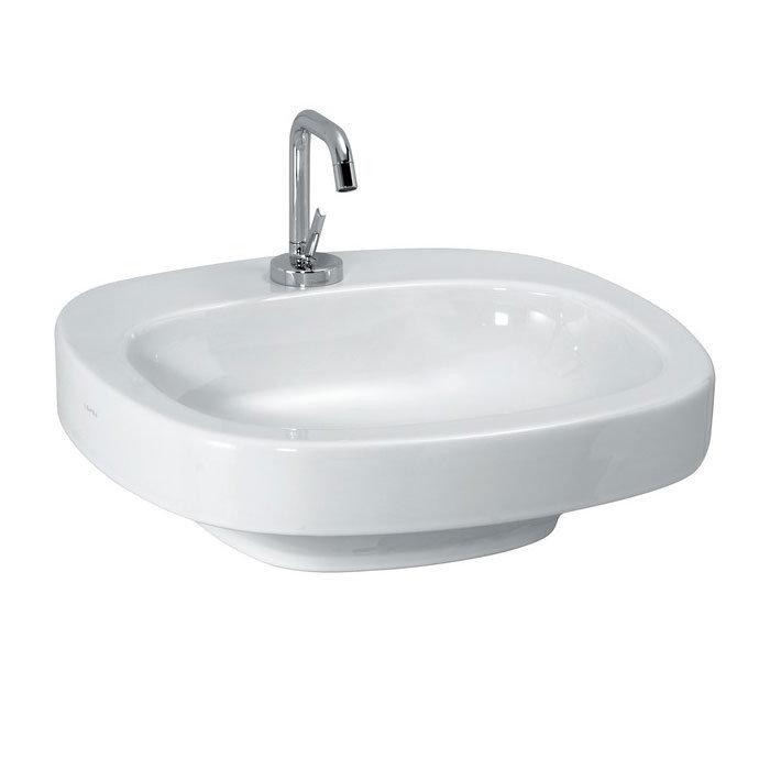Laufen - Palomba 1 Tap Hole 510mm Countertop Basin - 12801(B) Large Image