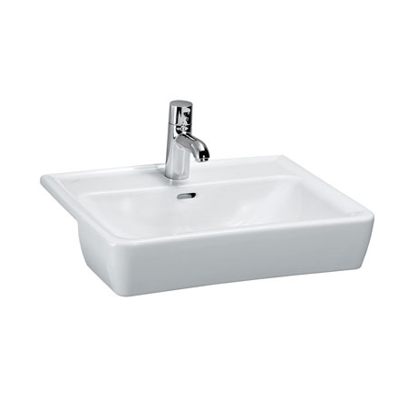 Laufen - Pro 1 Tap Hole 560mm Semi-Recessed Basin - 12961