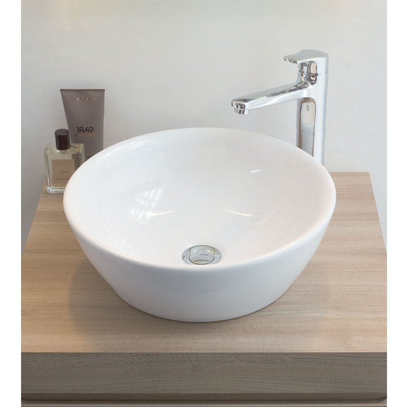 Laufen - Pro Round Sit-On Countertop Basin - 12962 Profile Large Image
