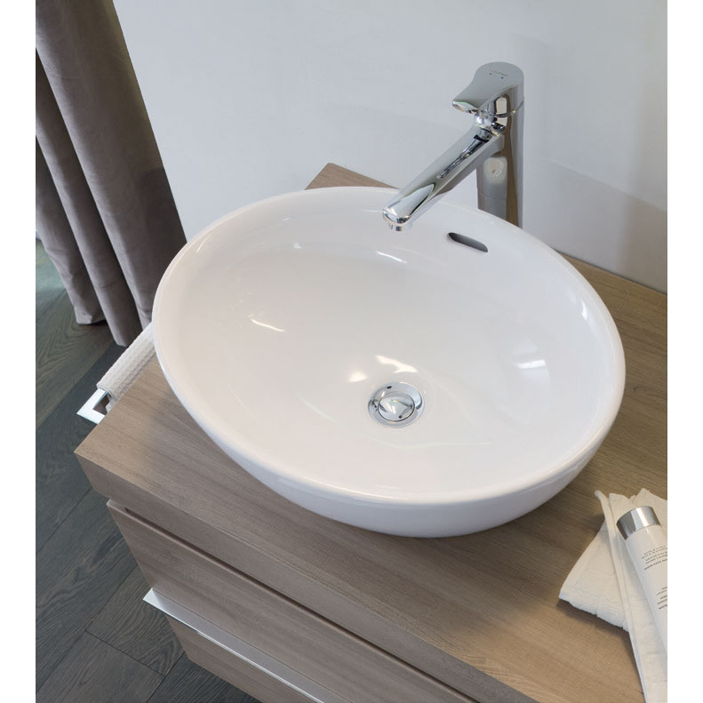 Laufen - Pro Oval Sit-On Countertop Basin - 12964 profile large image view 2