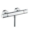 hansgrohe Ecostat Comfort Thermostatic Exposed Shower Mixer - 13116000 profile small image view 1