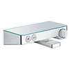 hansgrohe ShowerTablet Select Exposed Thermostatic Bath Mixer 300 - 13151000 profile small image view 1