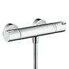 hansgrohe Ecostat 1001 CL Thermostatic Exposed Shower Mixer - 13211000 profile small image view 1
