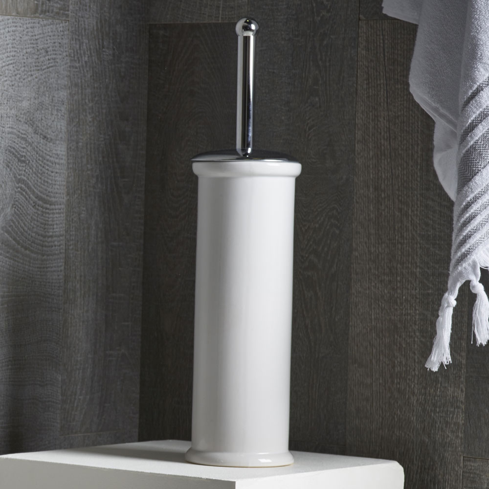 Roper Rhodes Classic Ceramic Toilet Brush - 13670 Profile Large Image